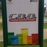 Photo taken at Complejo Deportivo Orizaba (CDO) by Jorge C. on 10/22/2013