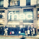 Photo taken at Fnac by james c. on 10/27/2012