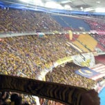 Photo taken at Stadium Nasional Bukit Jalil by Razali R. on 12/1/2012