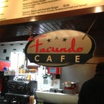 Photo taken at Facundo Cafe by Greg N. on 5/28/2013