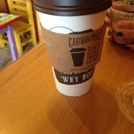 Photo taken at Caribou Coffee by Kelly O. on 2/8/2014