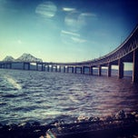 Photo taken at Tappan Zee Bridge by karen r. on 4/4/2013