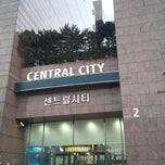 Photo taken at 센트럴시티 (Central City) by 용훈 김. on 3/15/2013