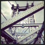 Photo taken at Williamsburg Bridge by Beth H. on 6/15/2013