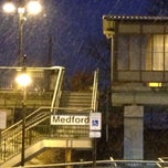 Photo taken at LIRR - Medford Station by Mikel K. on 2/3/2014