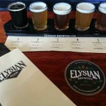 Photo taken at Elysian Brewing Company by Jordan on 9/17/2013
