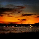 Photo taken at Petone Beach by Woiwoi W. on 5/26/2013