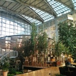 Photo taken at Hyatt Regency Paris Charles De Gaulle by Juston P. on 7/14/2013