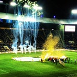 Photo taken at ОСК «Металіст» / Metalist Stadium by Sofia Z. on 5/22/2013