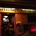 Photo taken at Kaffee Burger by Ilya Z. on 2/3/2013