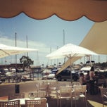 Photo taken at Club Nautico Sant Carles de la Rapita by Tasha B. on 7/28/2013