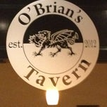 Photo taken at O'Brian's Tavern by Brian P. on 9/28/2013