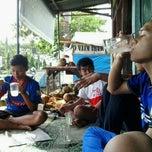 Photo taken at GOR Jalan Baru by Devid P. on 7/7/2013