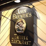 Photo taken at John Brewer's Tavern by Eric A. on 4/11/2013