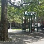 Photo taken at Lafayette Gardens Playground by Gianfranco G. on 6/30/2014