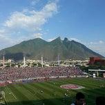 Photo taken at Estadio Tecnológico by Lily G. on 5/4/2013