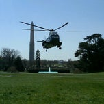 Photo taken at South Lawn - White House by Bill A. on 4/3/2013