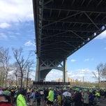Photo taken at Astoria Park Parking Lot by Susan B. on 5/4/2014