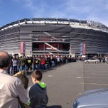 Photo taken at Tailgate Joe Party @ MetLife Stadium by Izzy D. on 4/7/2013