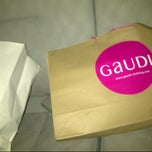 Photo taken at Gaudi Boutique Sun Plaza by wiwi on 9/28/2012