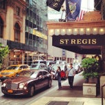 Photo taken at The St. Regis New York by Eric on 5/11/2013