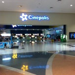 Photo taken at Cinépolis by Marco Antonio E. on 4/20/2013