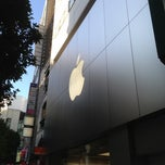 Photo taken at Apple Store Shibuya by Chris C. on 11/9/2012