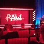 Photo taken at Raw Comedy Club by Ally R. on 3/2/2013