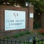 Photo taken at Clark Atlanta University by Nichole on 10/13/2012
