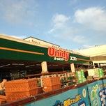 Photo taken at ユニディ Unidy 千鳥町店 by Hideki M. on 5/12/2013