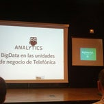 Photo taken at Telefónica I+D by Juan C. on 5/20/2014