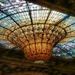 Foto tomada en Palau de la Música Catalana por Giulio el 2/6/2013
