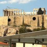 Photo taken at Καφέ & Εστιατόριο Μουσείου Ακρόπολης (Acropolis Museum Cafe Restaurant) by Katerina K. on 3/14/2012