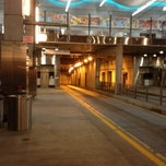 Photo taken at MBTA World Trade Center Station by Cherish R. on 4/7/2012