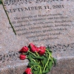 Photo taken at Massachhusetts 9/11/2001 Memorial by IWalked Audio Tours on 9/28/2011