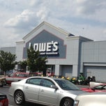 Photo taken at Lowe's Home Improvement by Steven T. on 8/17/2012