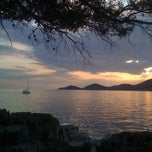 Photo taken at Skrivena Luka by Ida B. on 8/13/2012
