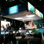 Photo taken at Cisco Booth - Enterprise Connect Expo by Moises R. on 3/27/2012