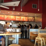 Photo taken at Chipotle Mexican Grill by Rob M. on 3/18/2012