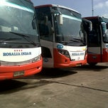 Photo taken at Agen Bus Rosalia Indah by sii r. on 1/30/2013