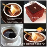 Photo taken at Cafe Demitasse by i 💕 on 5/6/2013
