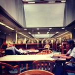Photo taken at Snell Library by Natalie D. on 10/1/2012