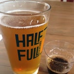 Photo taken at Half Full Brewery by Jorge on 9/15/2012