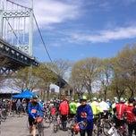 Photo taken at Astoria Park Parking Lot by John on 5/4/2014