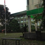 Photo taken at Universitas Nasional (UNAS) by Haritso on 4/26/2013
