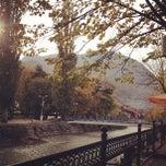 Photo taken at Hotel Dukagjini by Erdem A. on 11/3/2012
