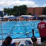 Photo taken at Penn State Outdoor Pool by Olivier S. on 6/28/2014