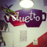 Photo taken at Cafe Duetto by Rami T. on 9/23/2012