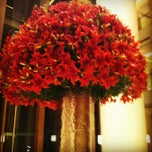 Photo taken at Trident Hotel - BKC by Sinem Ö. on 7/10/2013