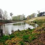 Photo taken at Hamilton Mill Golf Club by Ana C. on 4/11/2014